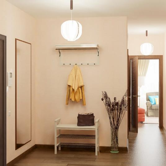 ЖК Золотые купола, отделка, комната, квартира, коридор, холл